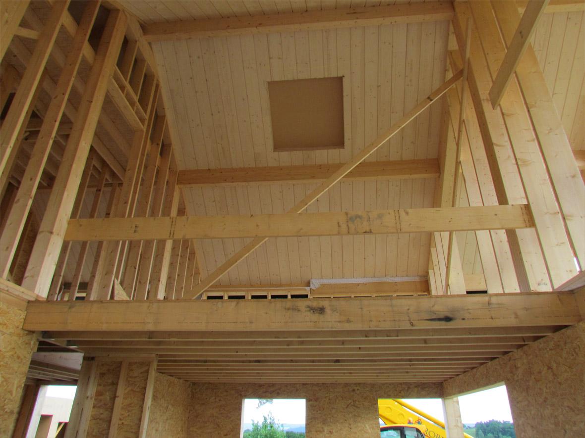 squelette maison bois obtenez des id es de design int ressantes en utilisant du. Black Bedroom Furniture Sets. Home Design Ideas